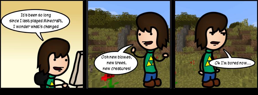Returning to Minecraft: Part 2