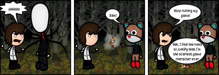Slenderman VS Tod